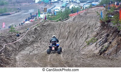 Motorcross extreme sport