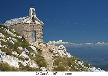 Church on the Mount St Jure - Church at Mount St Jure...