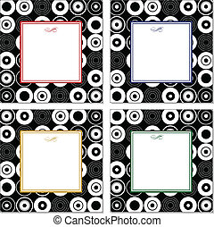 Vector Set of Dot Pattern Frames