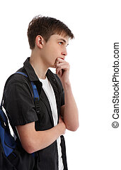 Thinking contemplative student