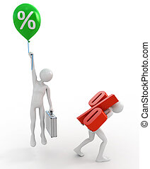 high and low interest rate loans