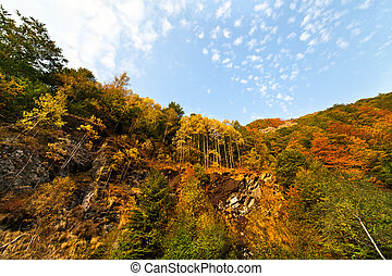 Mountain landscape - Beautiful mountain landscape in Parang,...