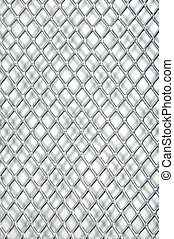 metal mesh background - macro metal mesh background
