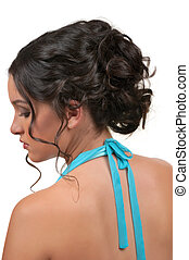 Hairstyle for weddings or parties