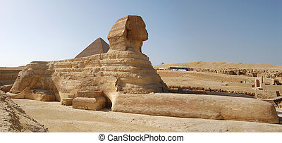 Sphinx in Giza Cairo Egypt