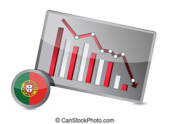 portugal suffering crisis graph design