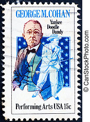Postage stamp USA 1978 George M. Cohan - UNITED STATES OF...