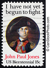 Postage stamp USA 1979 John Paul Jones - UNITED STATES OF...