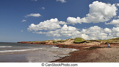Cavendish beach - Dunes and beach at Cavendish Prince Edward...
