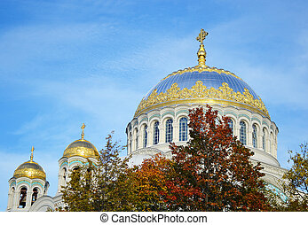 Naval Cathedral in Kronstadt - Naval cathedral in Kronstadt,...