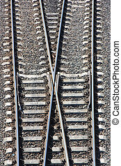 Railway Tracks and Switch