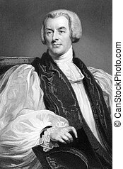 Lord George Murray (1761 -1803) on engraving from 1837....