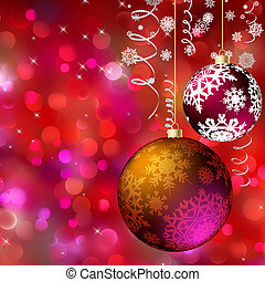Merry christmas card EPS 8 vector file included