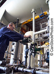 Working Hard - Instrumentation technicians