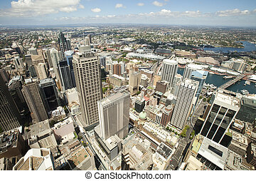 Sydney - City skyline in Sydney Australia