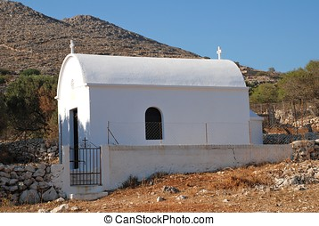 Small chapel, Halki island - A small chapel at Emborio on...