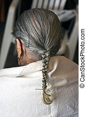 elderly woman hairstyle