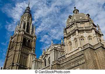 Cathedral of Toledo - Cathedral of Gothic style of the...