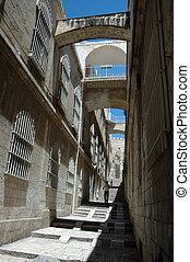 Streets of old Jerusalem, Israel