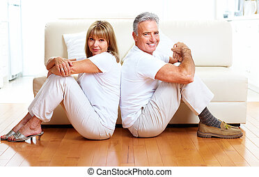 Senior couple.