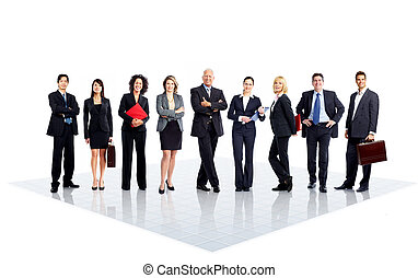 Business people - Group of business people Business team