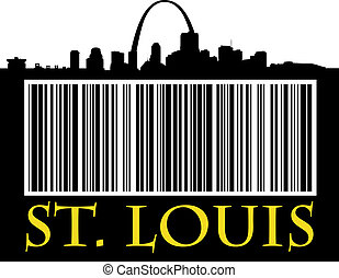 St. Louis barcode - City of St. Louis bar code with...