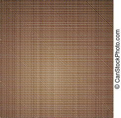 Cloth canvas texture. Vector art illustration background