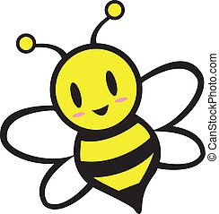 Bee - Cartoon Bee