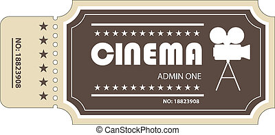 ticket - movie ticket