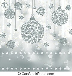Christmas background with copyspace EPS 8 - Christmas...