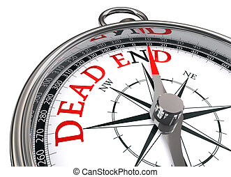 dead end indicated by concept compass
