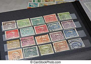 Czechoslovakian stamps (era of the first republic 1918 -...