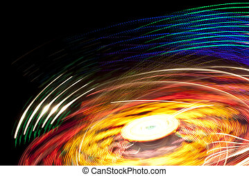 lights motion background - An image of a stylish lights...