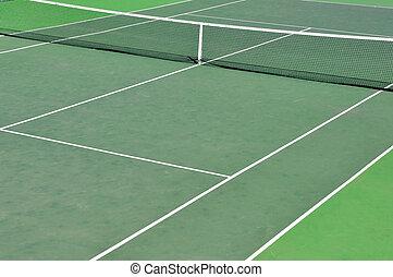 Tennis Court - Detail of a tennis court