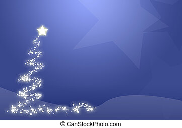 Blue Christmas Tree - Blue christmas tree wallpaper,...