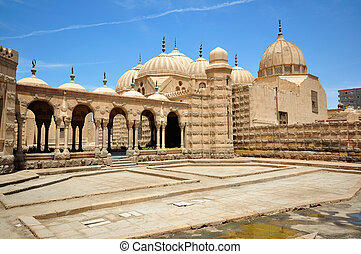 Hosh al-Basha Monument in Cairo, Egypt - Tomb of the Family...