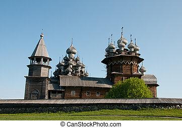 Karelia Beautiful Kizhi island - Beautiful Kizhi island on...