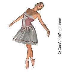 Ballerina in Pink - 2