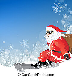 cristmas vector background - vector illustration of a...