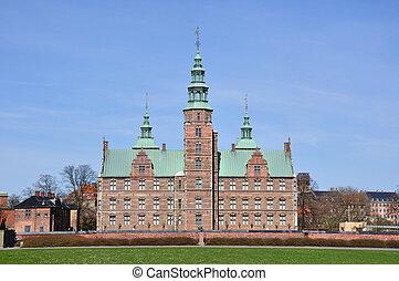 Copenhagen, Denmark - Rosenborg Castle in Copenhagen. Taken...