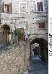 Amelia Terni, Umbria, Italy - Old town