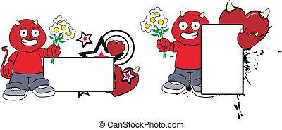 demon kid cartoon copyspace10