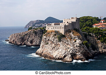 Dubrovnik Old City - Dubrovnik Old City on the Adriatic Sea...