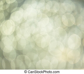 silver abstract light background - Defocused abstract silver...
