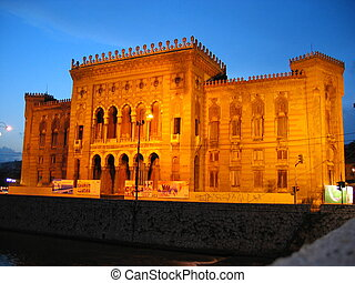 Sarajevo City Hall Buiding - SARAJEVO - JUNE 23: The...