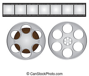 films strip and video film