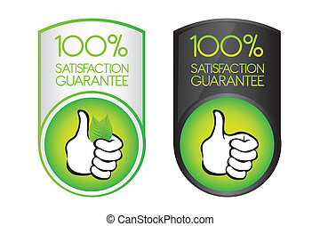100 satisfaction guarantee - green 100 satisfaction...