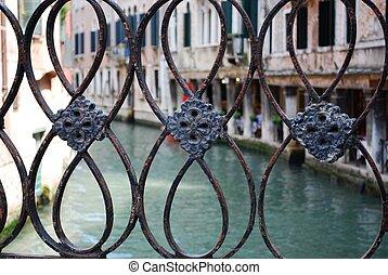 Bridge detail, Venice