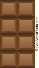 chocolate - black chocolate isolated over white background...