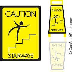 stairways sign